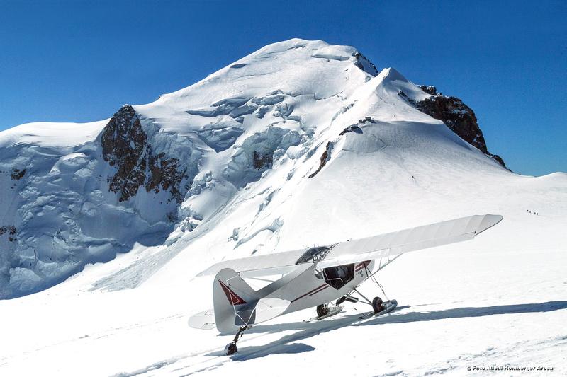 28694-552 Mont Blanc, Dome du Gouter